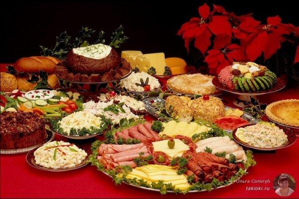 Как правильно питаться в праздники?