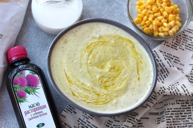 Масло расторопши от Биокор добавили в крем-суп